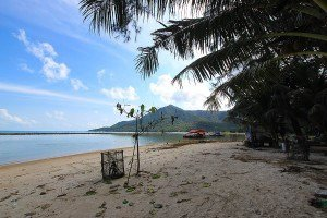 Chaloklam beach land for sale looking north east #2