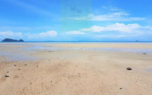 Koh Phangan beach land in Wok Tum for sale