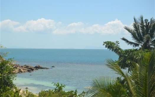 Haad Tien Koh Phangan sunset view sea front land for sale