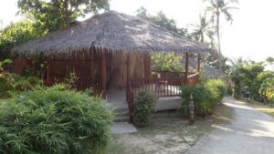 Haad Gruad seafront resort for rent - new bunga