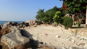 Haad Gruad seafront resort for rent - seafront area