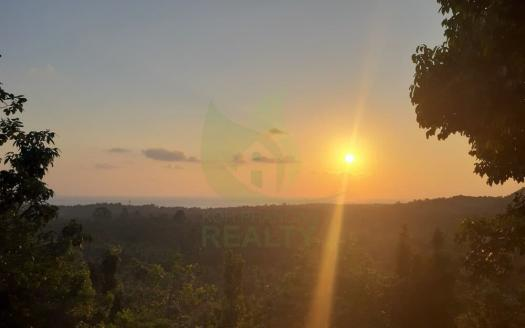 Gorgeous Koh Phangan panoramic sunset sea-view land for sale (19)