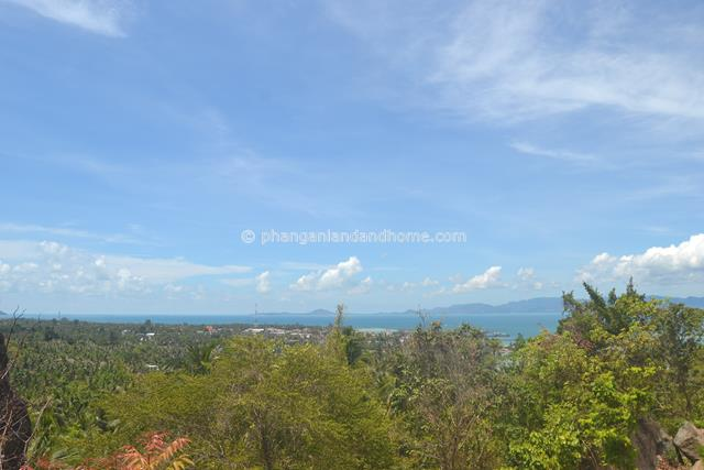 Scenic sea view property near Thong Sala Koh Phangan