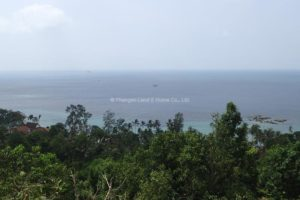 West coast Koh Phangan spectacular sea view property