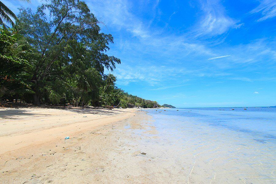 Peaceful Ban Kai Koh Phangan seafront rental land