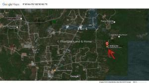 Cheap chanot Koh Phangan garden land plot for sale