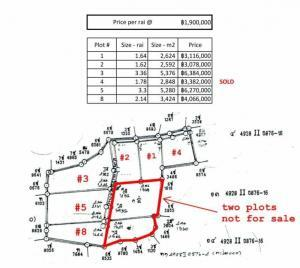 Cheap central Koh Phangan land for sale - plot sizes & prices