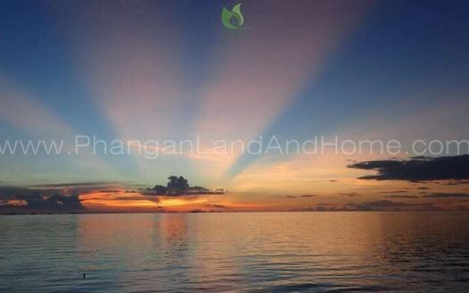 Koh Phangan real estate - The best Koh Phangan sunset sandy beach land for sale