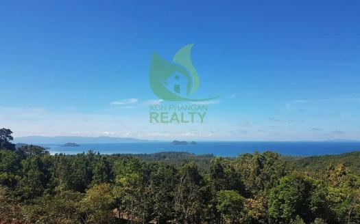 Supreme Sri Thanu Koh Phangan sea view land for sale