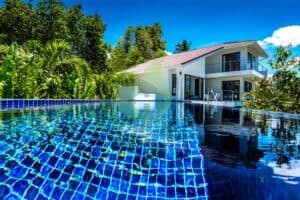 Stylish and modern Koh Phangan sea view house for sale - Haad Tong Lang