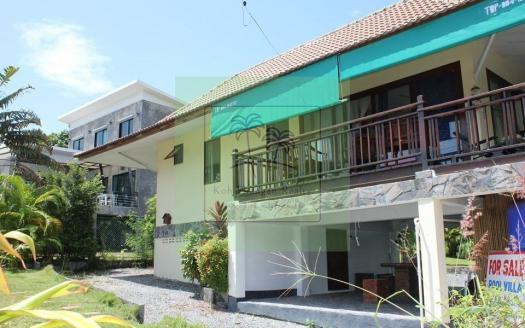 upmarket location Haad Salad Koh Phangan 2 bedroom sea-view pool villa