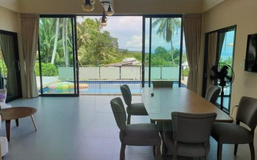 Spacious 2-bedroom Koh Phangan house with pool and sea views (25)